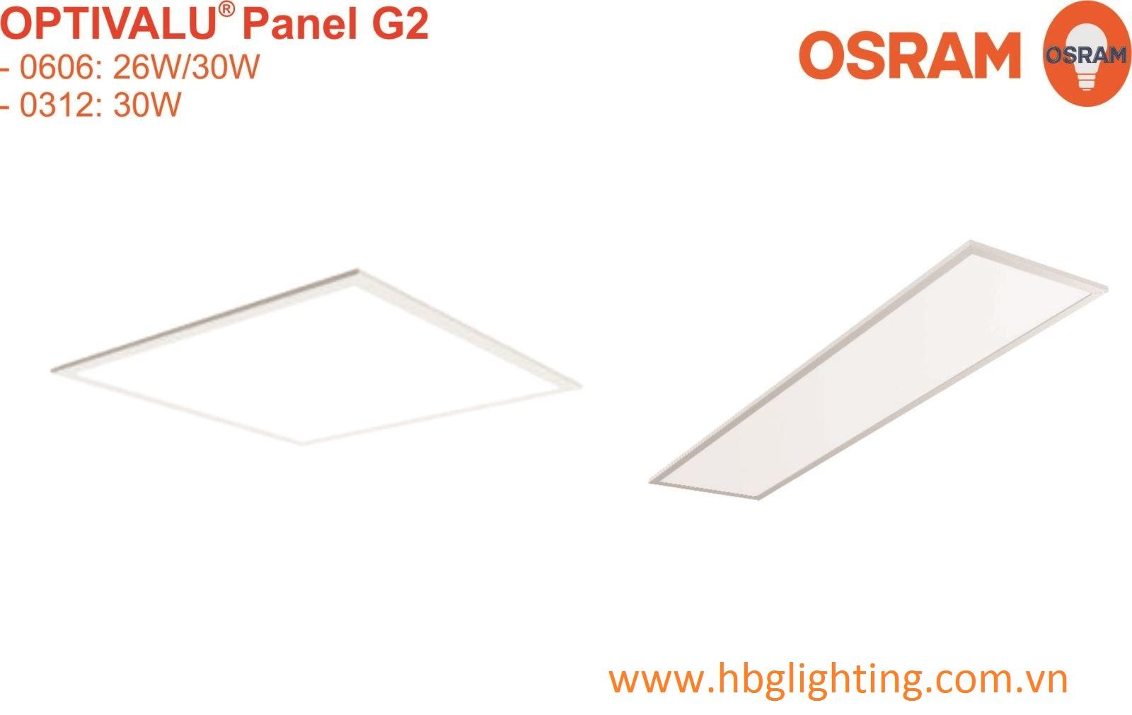 OPTIVALU PANEL G2 0606 OSRAM
