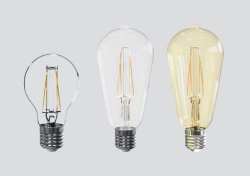 Bóng Led Bulb Sợi Đốt Dim Ecomax A60/ST64