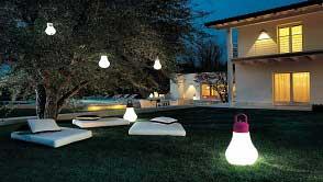 Đèn led chiếu sáng ngoài trời - Giải pháp ánh sáng sân vườn