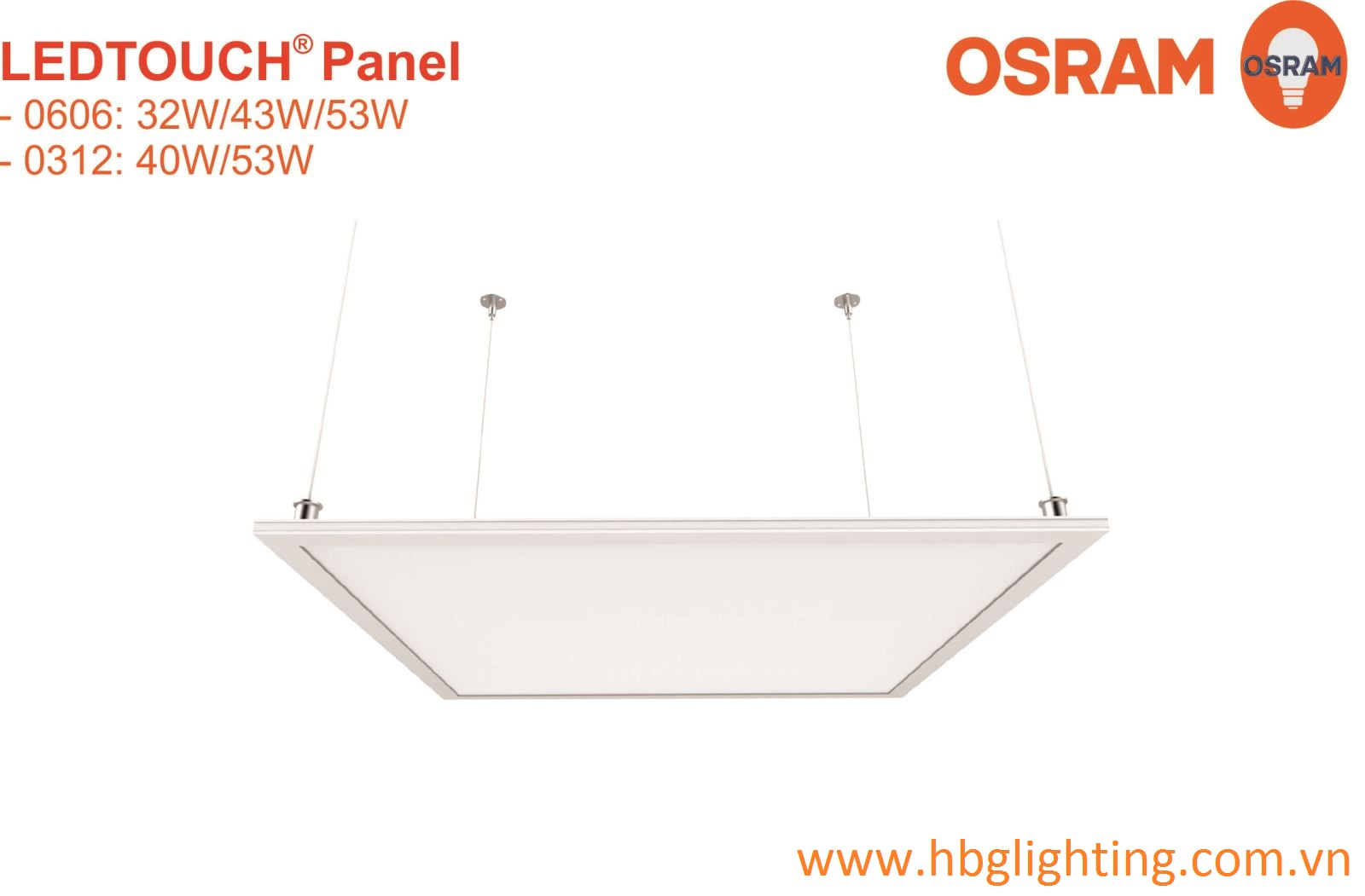LEDTOUCH PANEL 0312 OSRAM