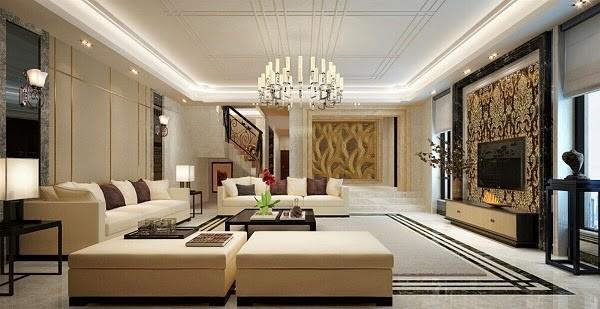 Tổng hợp 4 loại đèn trang trí cho không gian phòng khách sang trọng và ấn tượng