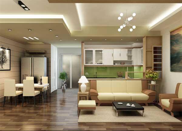 Chọn đèn LED chiếu sáng cho từng không gian trong nhà