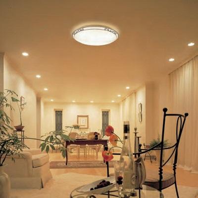 Chọn đèn LED Opple ốp trần trang trí phòng khách