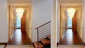 Đèn LED trang trí hành lang - Ánh sáng giữa những lối đi