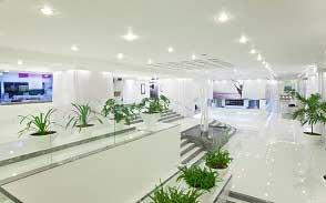 Đèn Osram giải pháp chiếu sáng cho trung tâm thương mại