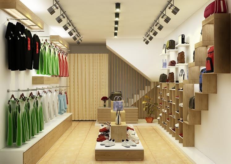 Gợi ý cách thiết kế cửa hàng thời trang với đèn dọi ray Opple