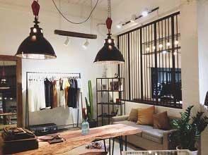 Kinh nghiệm chọn đèn cho shop thời trang