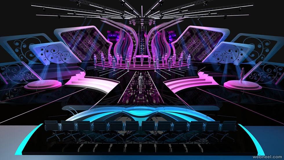 Thiết kế sân khấu hiệu quả với đèn Led Opple