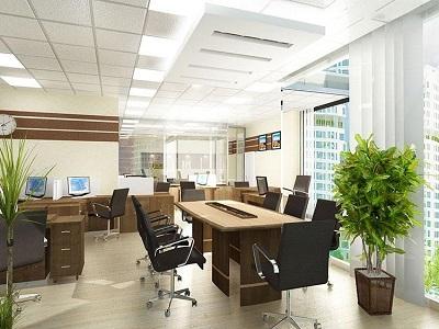 Thiết kế văn phòng với đèn Opple