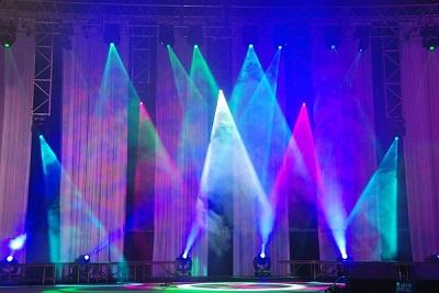 Trải nghiệm ánh sáng sân khấu chuyên nghiệp cùng đèn led osram