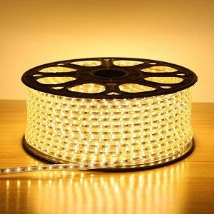 Trang trí nội thất bằng đèn LED dây cực sáng tạo