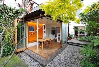 Ý tưởng sáng tạo góc làm việc và sân vườn với đèn LED Opple
