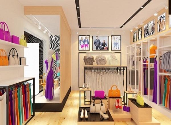 Ý tưởng thi công cửa hàng thời trang nữ với đèn Opple